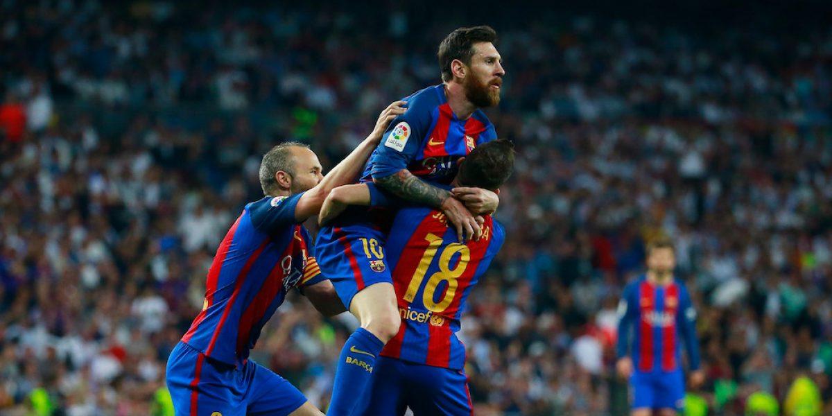 Messi consigue su gol 500 con el Barcelona