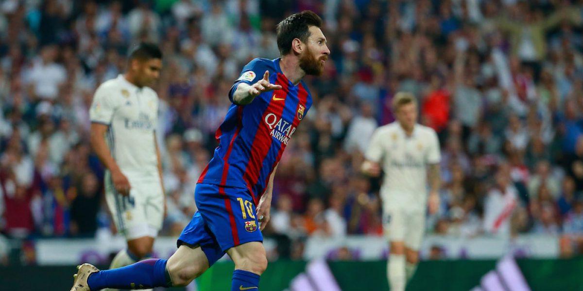 Barcelona se lleva el Clásico español 3-2 ante Real Madrid