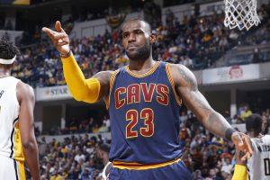"""LeBron James y los Cavs completan la """"barrida"""" sobre Pacers y avanzan a la siguiente ronda"""