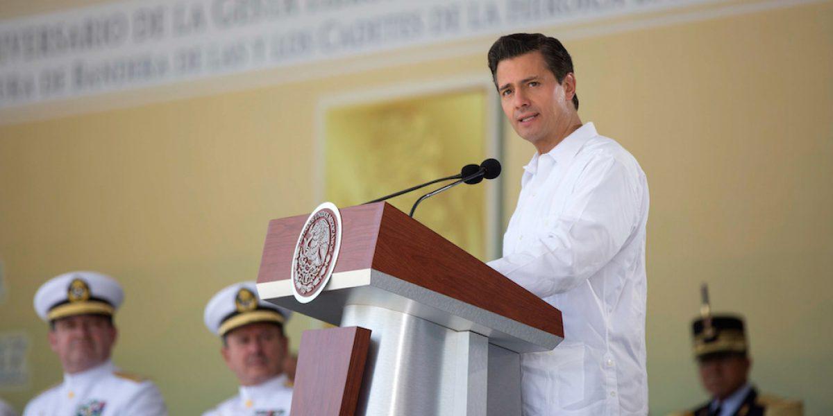 Peña Nieto lamenta la muerte de Leobardo Flores, cofundador de la CTM