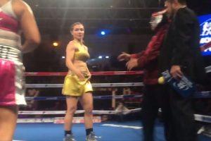 Sexy Star debuta con triunfo en el boxeo profesional