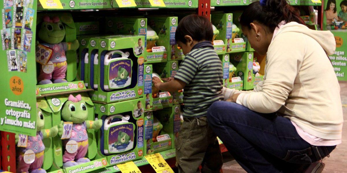 Niños deciden 30% de compras en los hogares