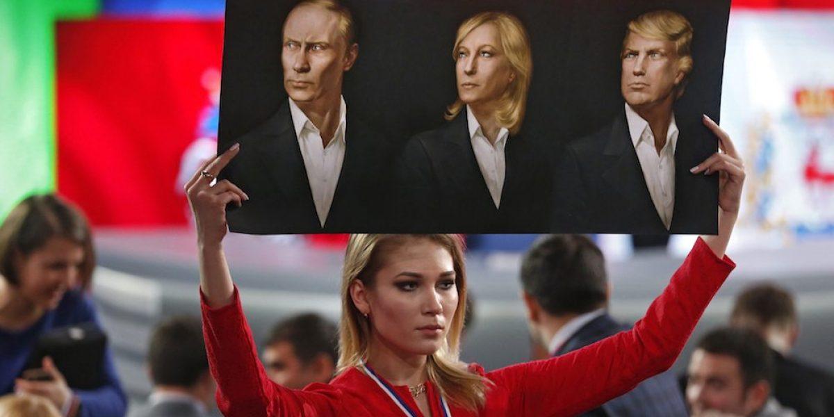 Trump, Putin y Le Pen la trinidad política del conservadurismo mundial
