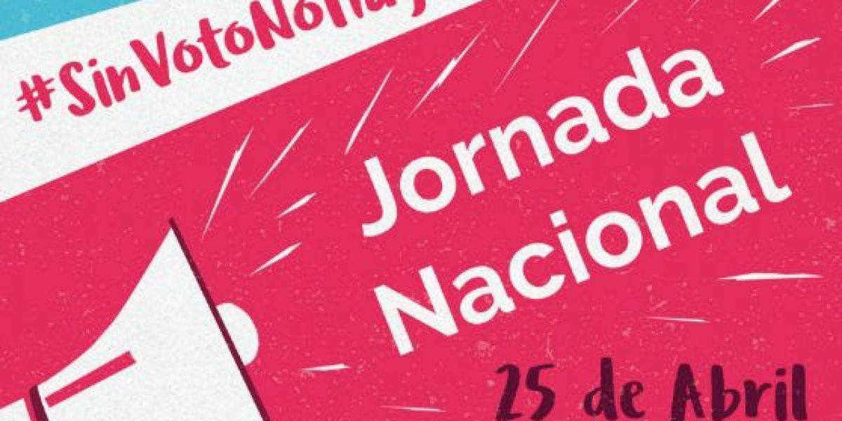 Convoca red a Jornada Nacional de #SinVotoNoHayDinero
