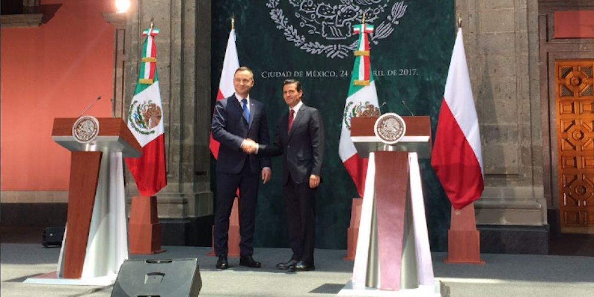 México y Polonia firman acuerdos en materia de comercio, seguridad y economía