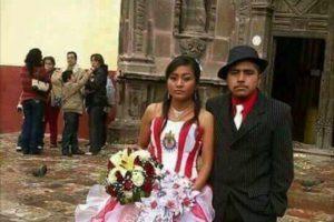 Novia se casa con vestido de las Chivas y Jorge Vergara la felicita