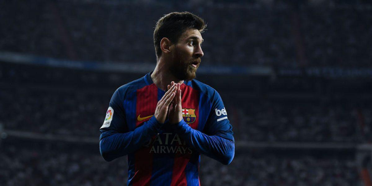 Messi recibe felicitaciones de Ronaldinho y otros futbolistas por sus 500 goles