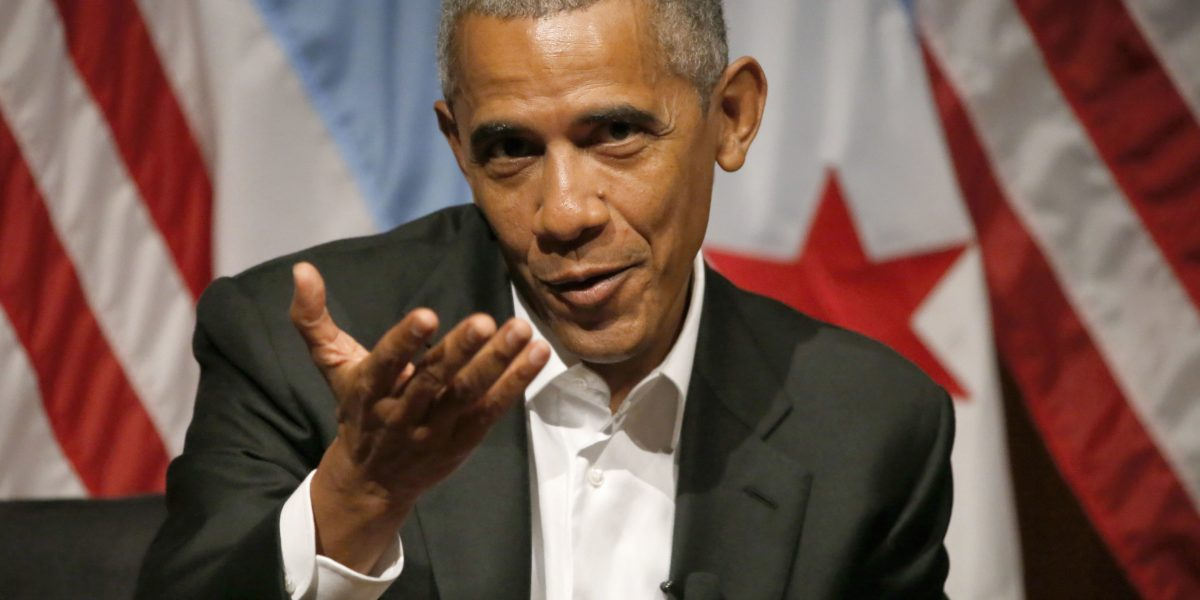 Obama ofrece su primer discurso como ex presidente de EU