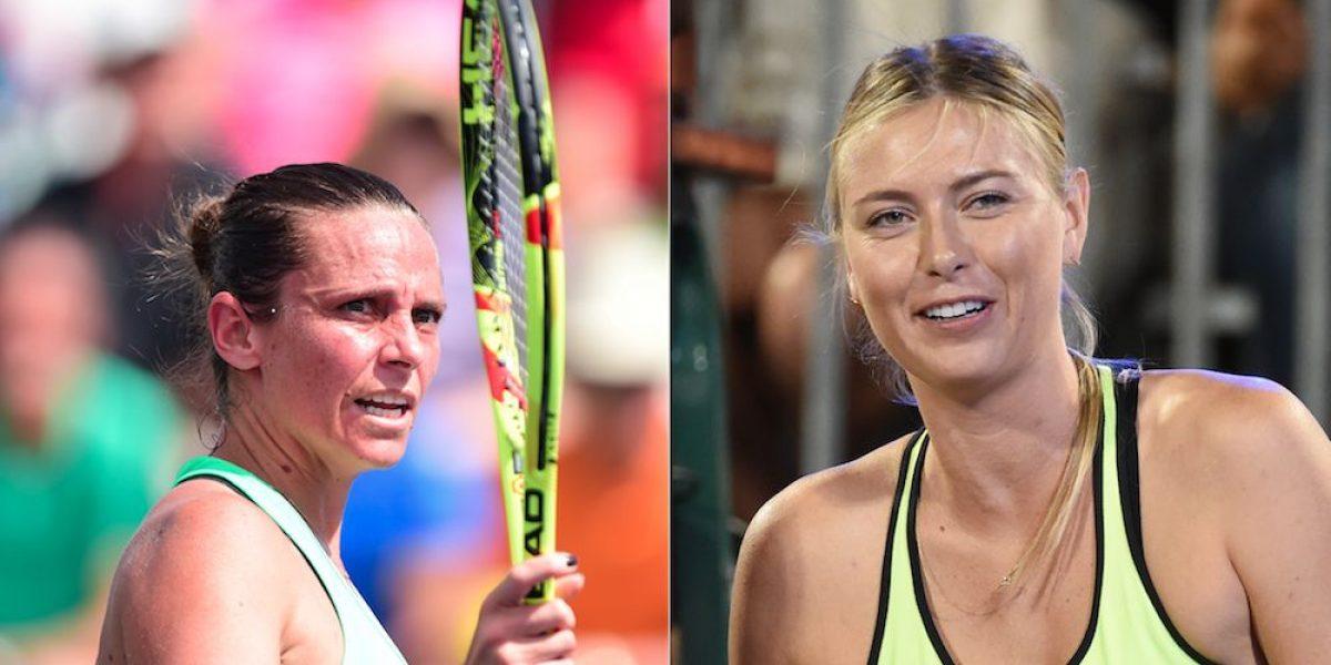 Roberta Vinci critica que Sharapova reciba invitación para jugar