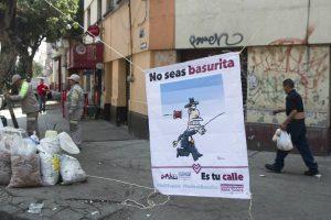 Castiga Cuauhtémoc a 19 al día por tirar basura