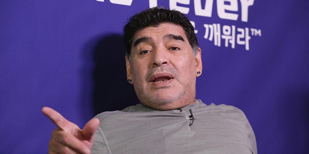Maradona ve un futuro complicado en la albiceleste sin Messi