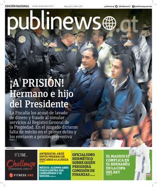 Guatemala City 19/01/2017