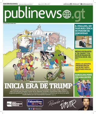 Guatemala City 20/01/2017
