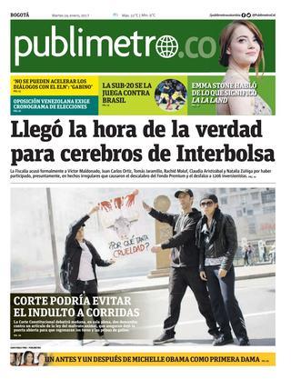 Bogota 24/01/2017
