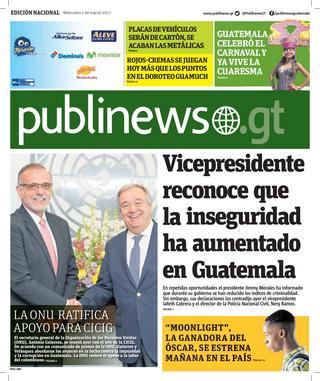 Guatemala City 01/03/2017