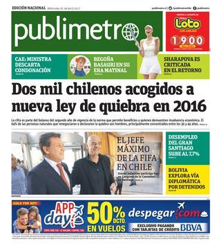 Chile 26/04/2017