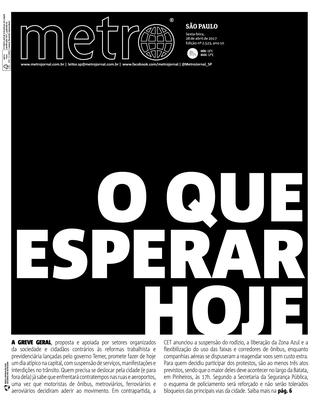 Sao Paulo 28/04/2017