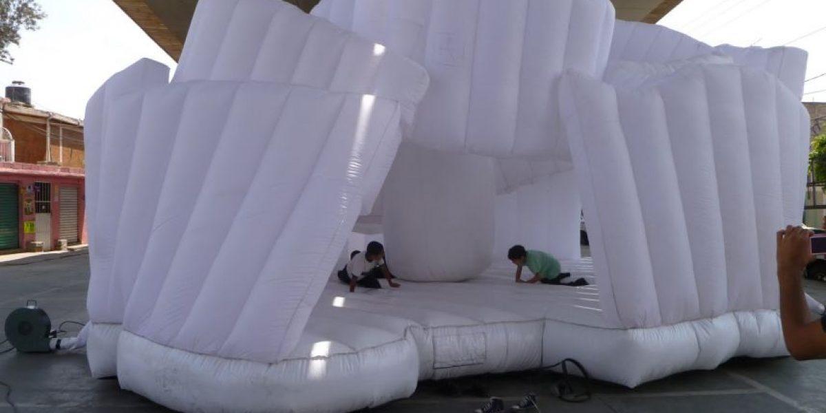 Guggensito, un museo para brincar y rayar sus paredes