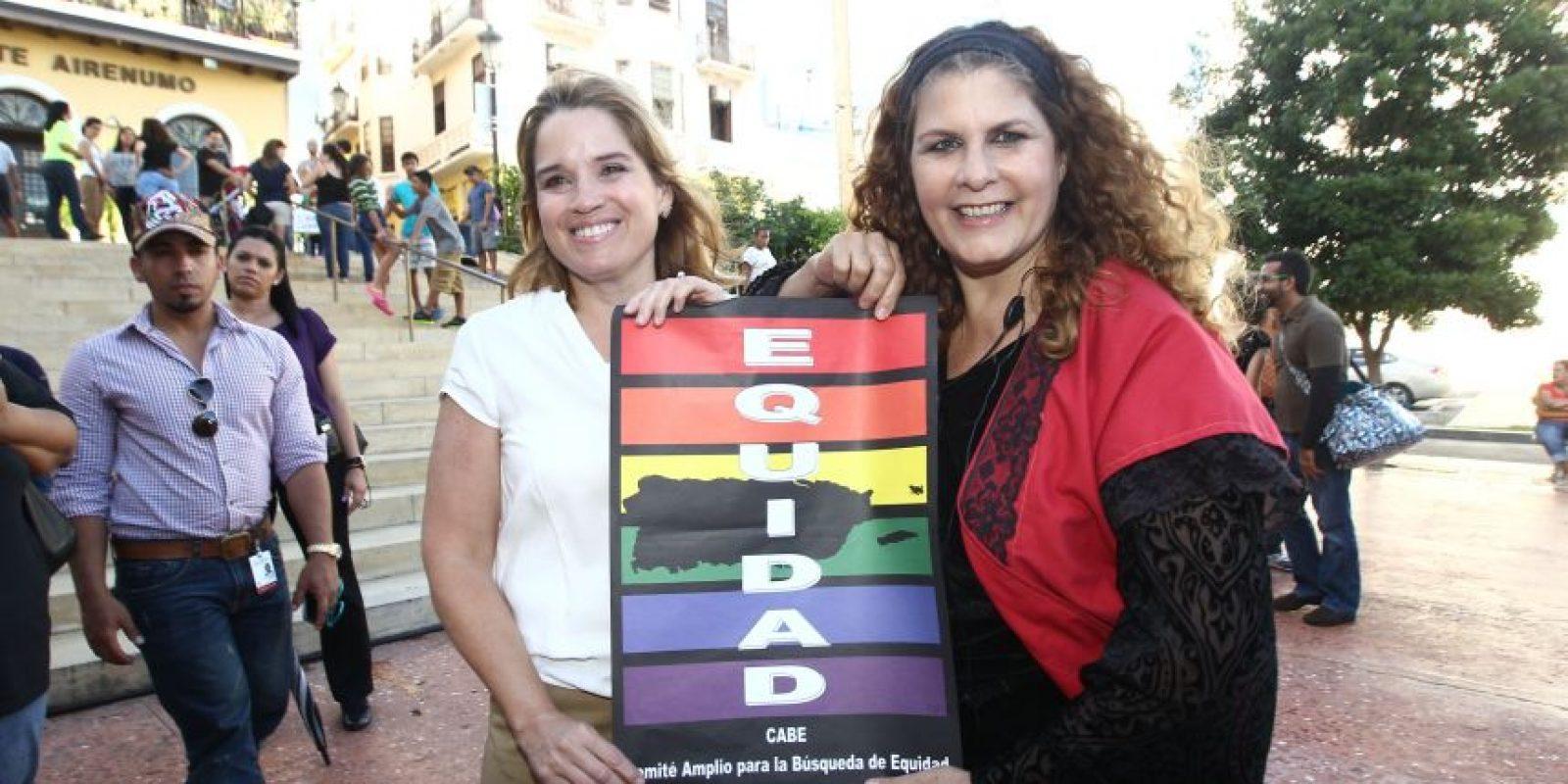 La alcaldesa de San Juan, Carmen Yulín Cruz, junto a Tere Marichal Foto:Keno Rodríguez/ Metro Puerto Rico. Imagen Por: