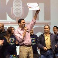 Presidente Ejecutivo de la AAA, Alberto M. Lázaro Castro Foto:@ACUEDUCTOSPR vía Twitter. Imagen Por: