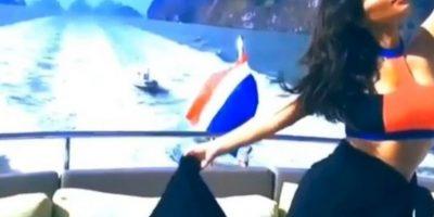 Escenas del video de Kim Foto:Captura de pantalla / Instagram. Imagen Por: