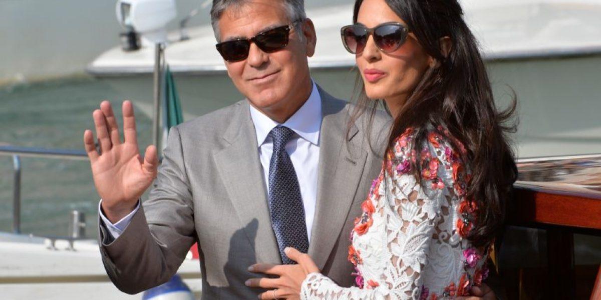 George Clooney y Amal serán padres de gemelos en junio