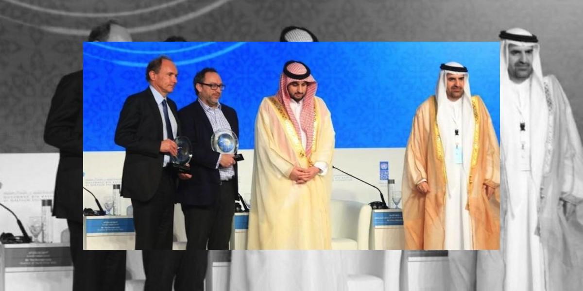"Mundo árabe premia a ""padre"" de la Internet"