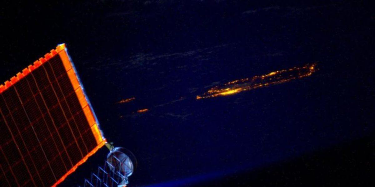 Astronauta sorprende con espectacular imagen de P.R. desde el espacio