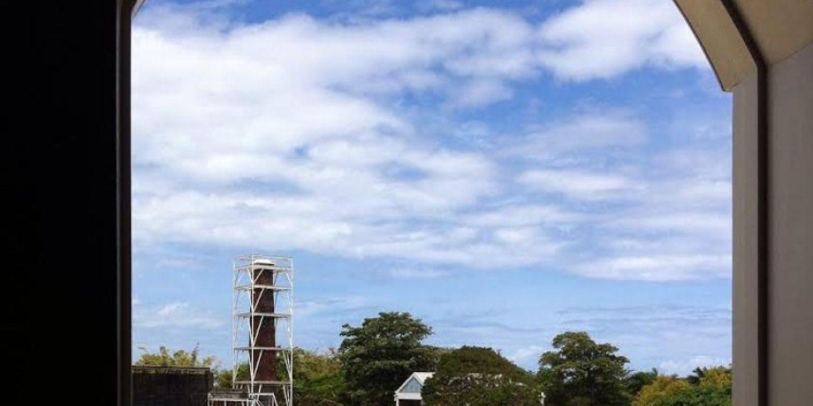 Vista de la hacienda desde la Casona del Márquez.. Imagen Por:
