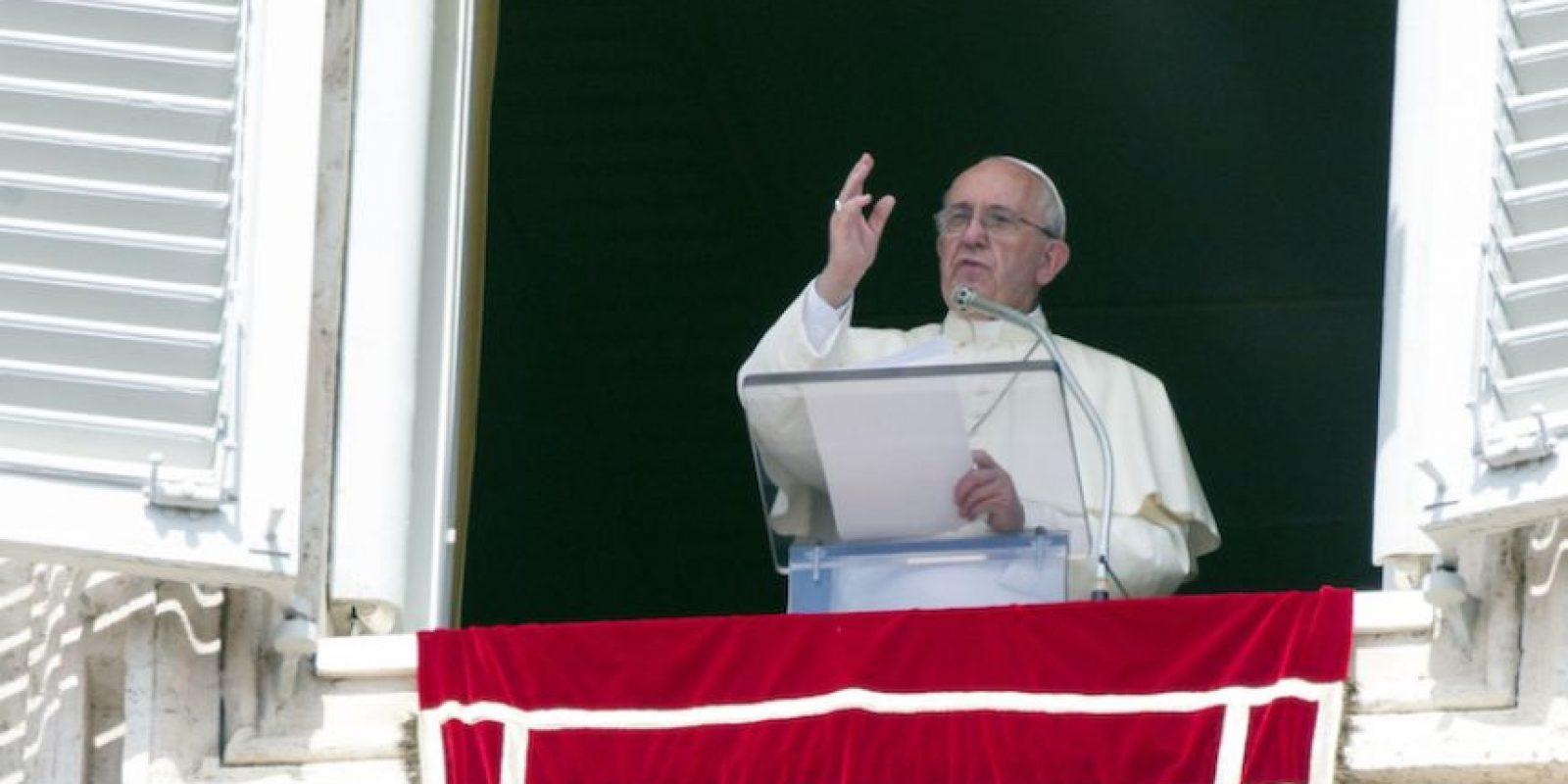 El papa Francisco Foto:AP. Imagen Por:
