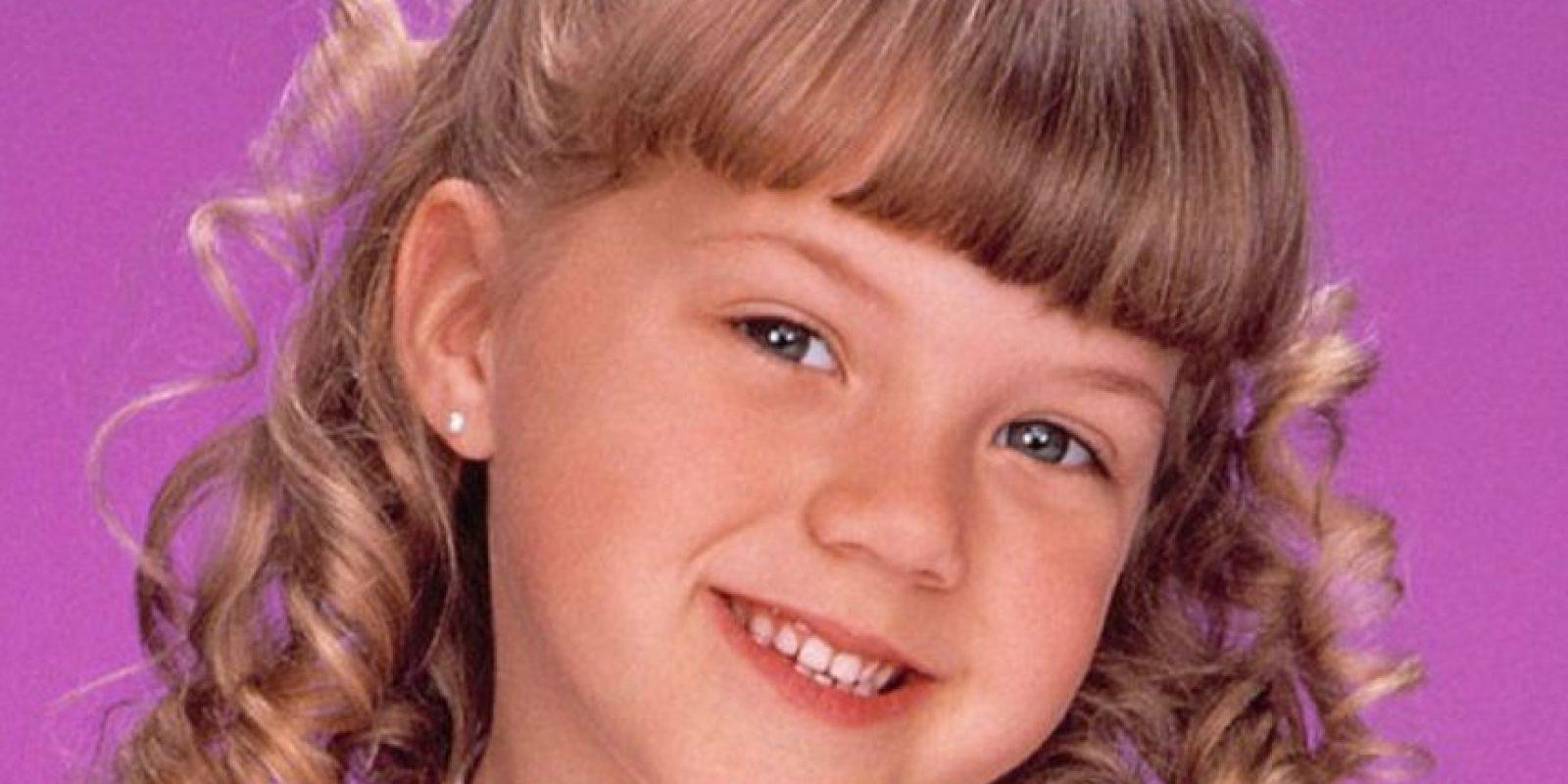 """El mundo vio crecer a Jodie Sweetin al interpretar a """"Stephanie Tanner"""" por ocho años. Foto:vía ABC. Imagen Por:"""