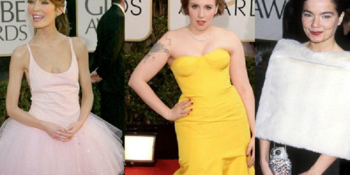 Los 15 vestidos más horrendos de los Golden Globes en toda su historia