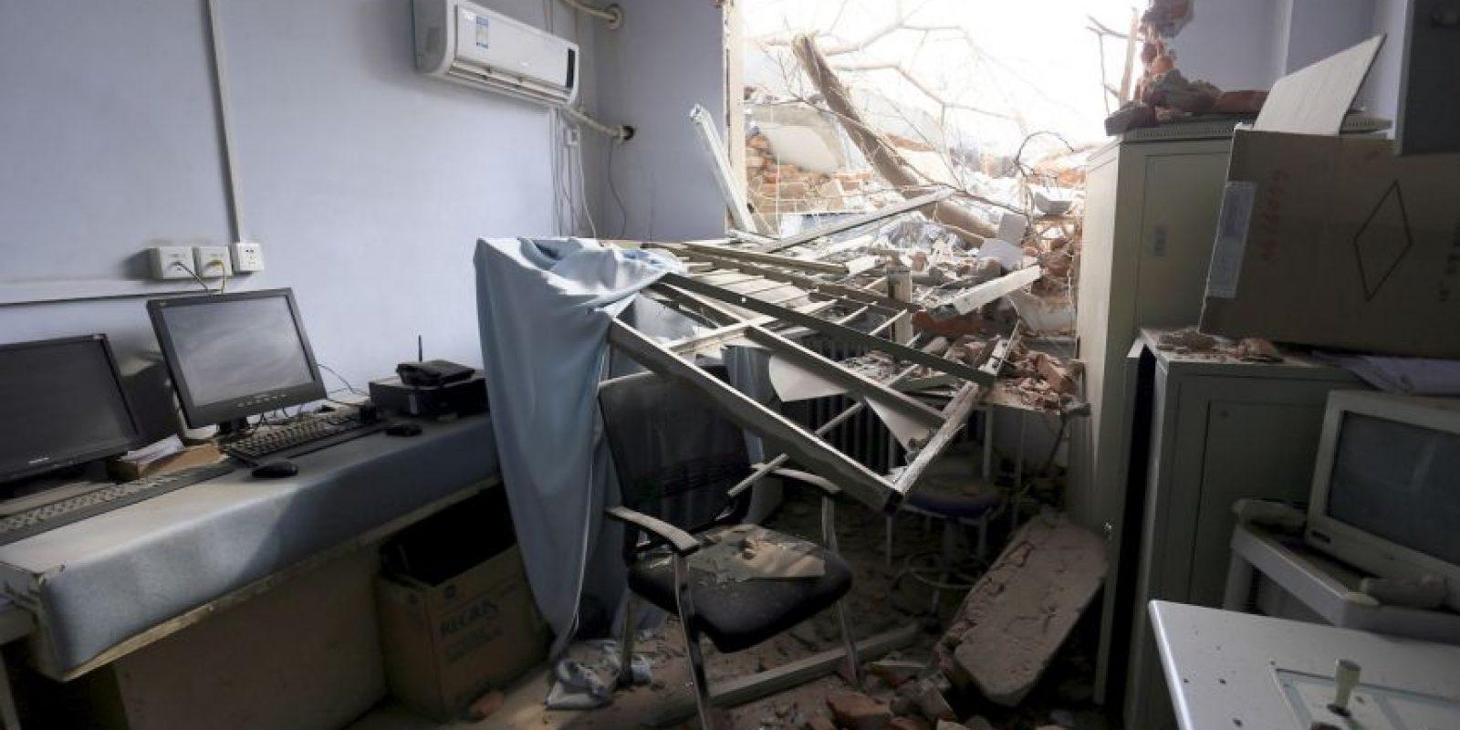 En el interior no había ninguna persona. Foto:AP. Imagen Por: