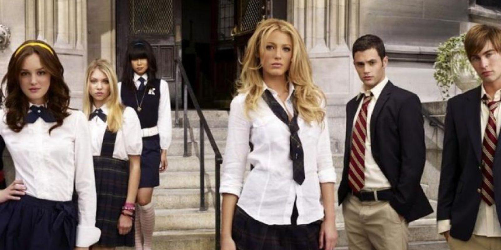 """La serie duró cinco años, de 2007 hasta 2012. Mostraba las andanzas de los niños ricos del Upper East Side en Manhattan. Todo lo documentaba la misteriosa bloguer """"Gossip Girl"""". Foto:vía The CW. Imagen Por:"""