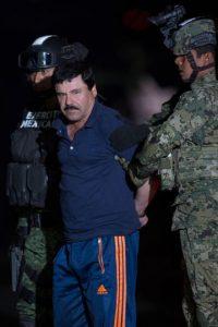 """""""El Chapo"""" le explicó a Penn que no cometía crímenes. Que lo único que hizo fue defenderse. Foto:AFP. Imagen Por:"""