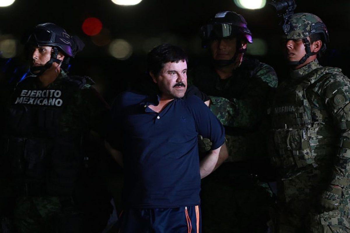 """La entrevista se realizó en un """"recinto fortificado"""" del """"Chapo"""", en medio de las montañas y bosques de Sinaloa. Foto:Getty Images. Imagen Por:"""