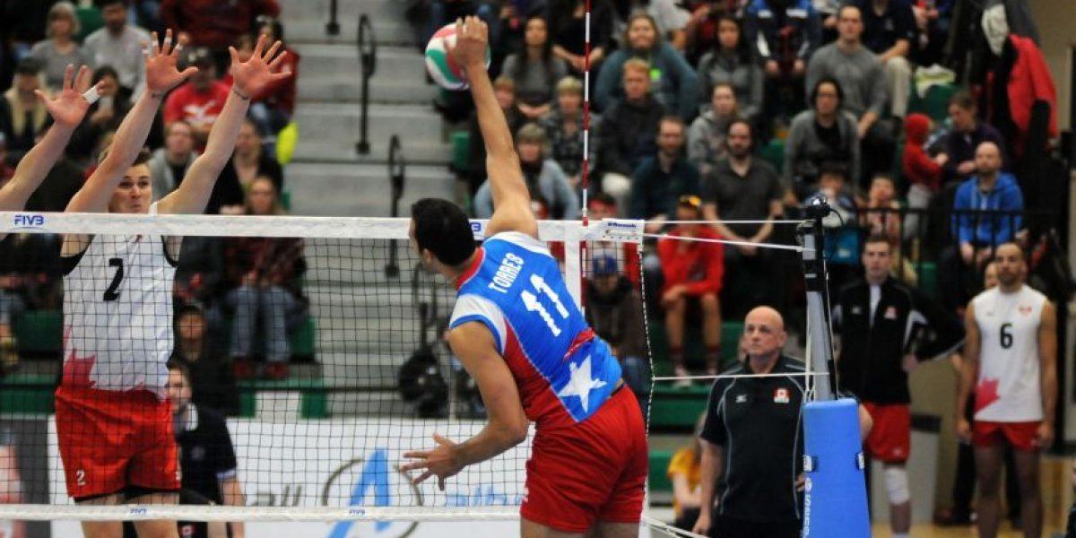 Selección masculina de voleibol de Puerto Rico sucumbe ante Canadá