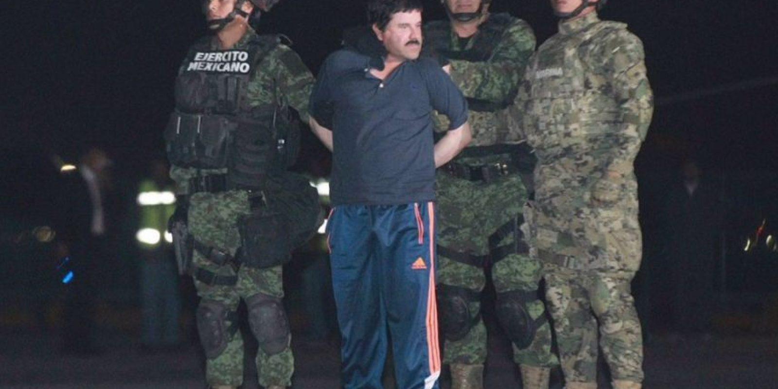 Guzmán se fugó ante las narices de las autoridades mexicanas. Foto:vía Twitter. Imagen Por: