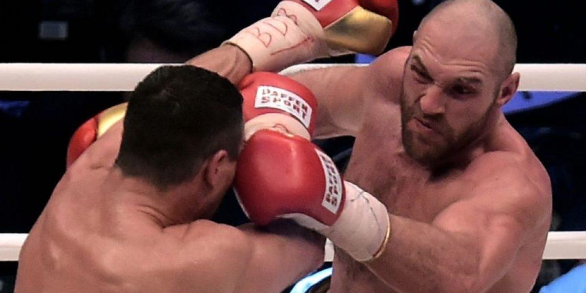 Fury es el peleador del año de Ring Magazine