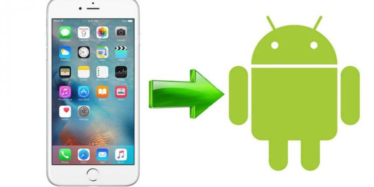 Ahora será sencillo pasar información de iPhone a Android