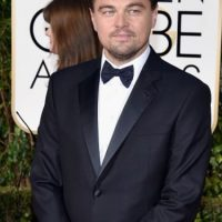 "DiCaprio ganó como ""Mejor Actor de Película Dramática"" por ""The Revenant"". Foto:vía Getty Images. Imagen Por:"