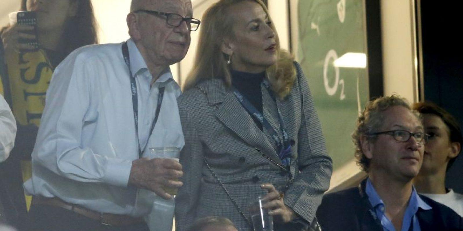 Murdoch está entre las 100 personas más ricas del mundo Foto:AFP. Imagen Por: