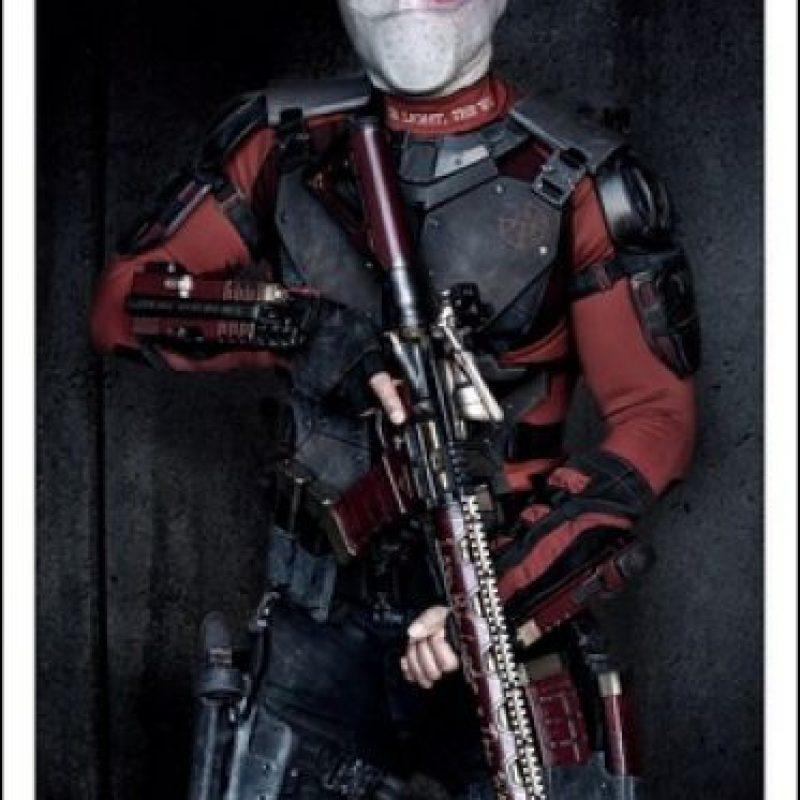"""""""Deadshot"""" fue presentado en el mundo de DC Comics como un luchador contra el crimen. Pero poco después se revela que es un villano y que intenta reemplazar a """"Batman"""". Foto:Twitter/DavidAyerMovies. Imagen Por:"""