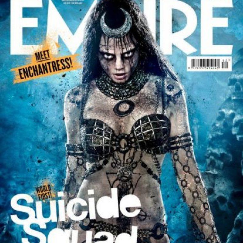 """""""Enchantress"""" es Cara Delevingne Foto:""""Empire Magazine"""". Imagen Por:"""