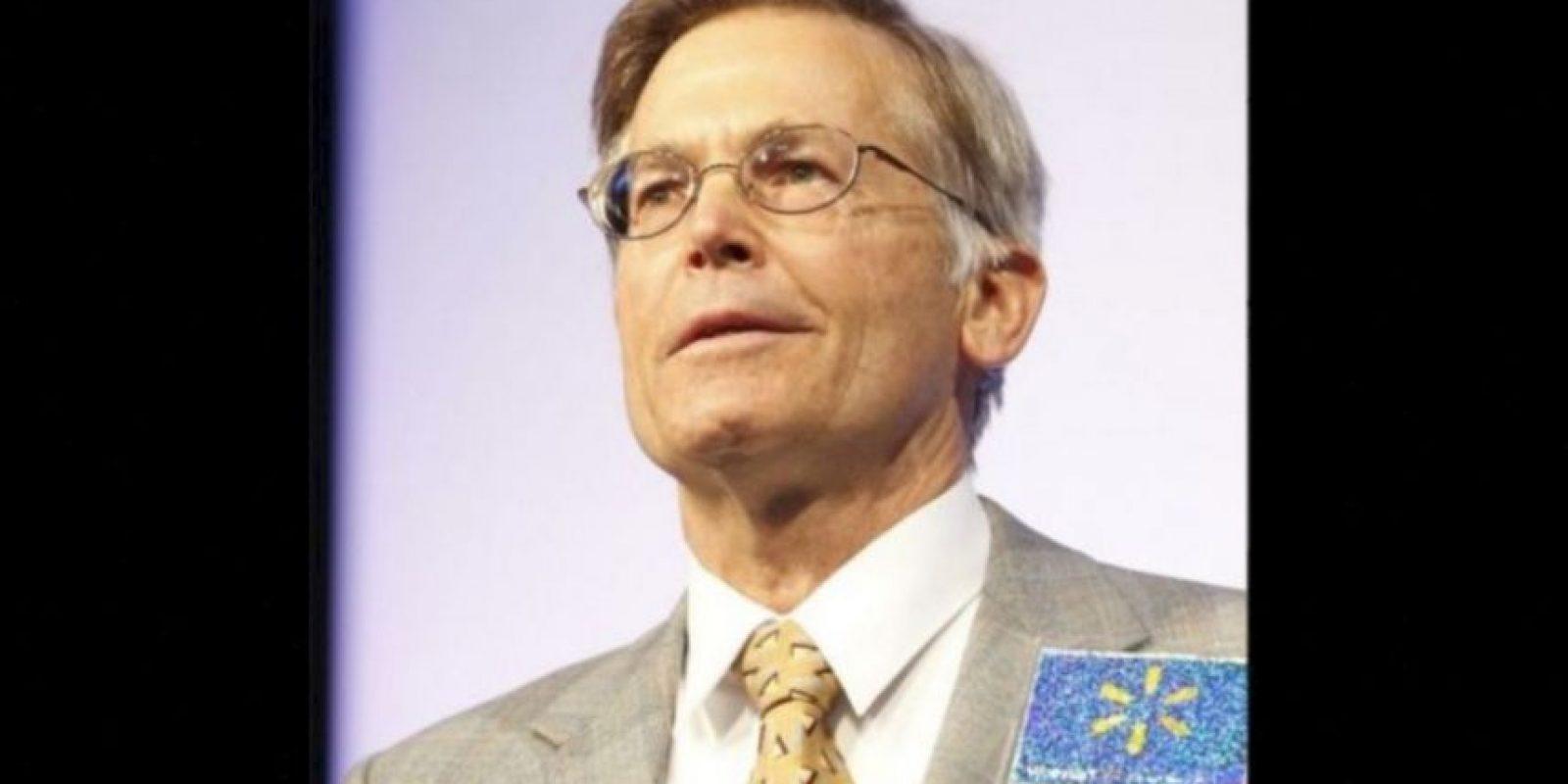 9. Jim Walton, de 67 años. Su fortuna se estima en 40 mil 600 millones de dólares Foto:Getty Images. Imagen Por: