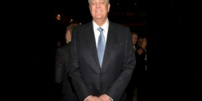 6. David Koch, de 75 años. Su fortuna se estima en 42 mil 900 millones de dólares Foto:Getty Images. Imagen Por:
