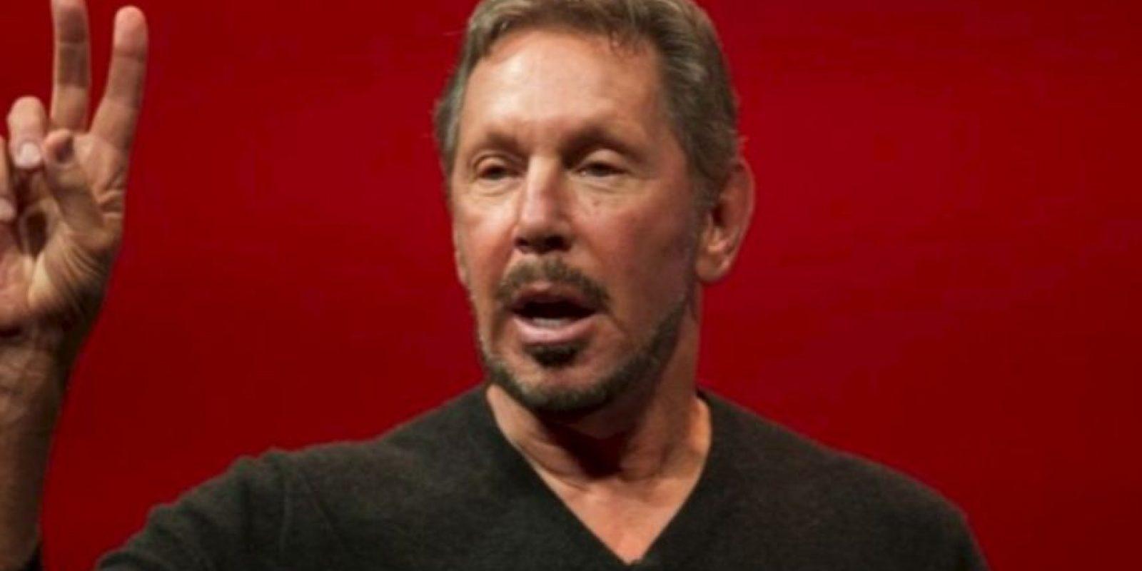 5. Larry Ellison, de 71 años, dueño de la empresa de tecnología Oracle Foto:Getty Images. Imagen Por: