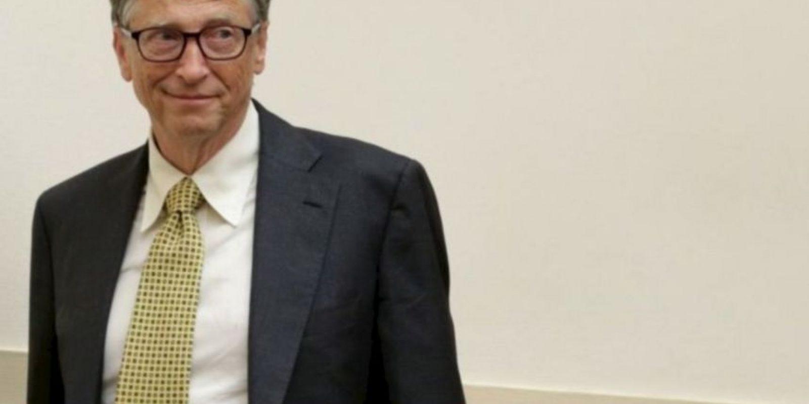 1. Bill Gates, de 59 años, es dueño de la compañía de tecnología Microsoft Foto:Getty Images. Imagen Por: