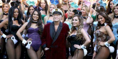 Hugh Hefner desea vender la mansión Playboy Foto:Getty Images. Imagen Por: