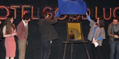 """Su asistencia juntos a la puesta de escena de """"Hotel Good Luck"""", resultó sospechosa para muchos. Foto:Grosby Group. Imagen Por:"""